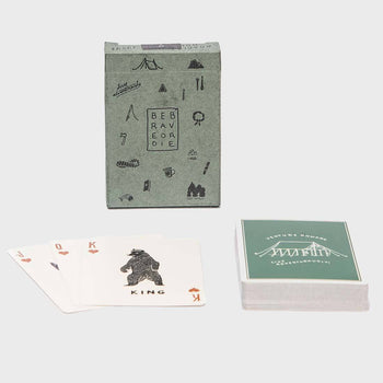 product: Bradley Mountain Camp Cards Green