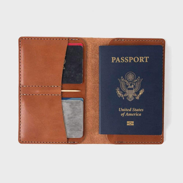 product: Bradley Mountain Charter Wallet Brown Leather