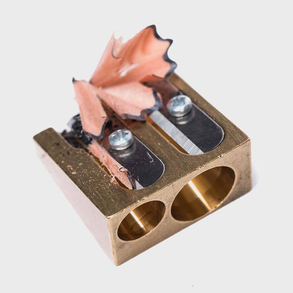 product: Bradley Mountain Brass Pencil Sharpener