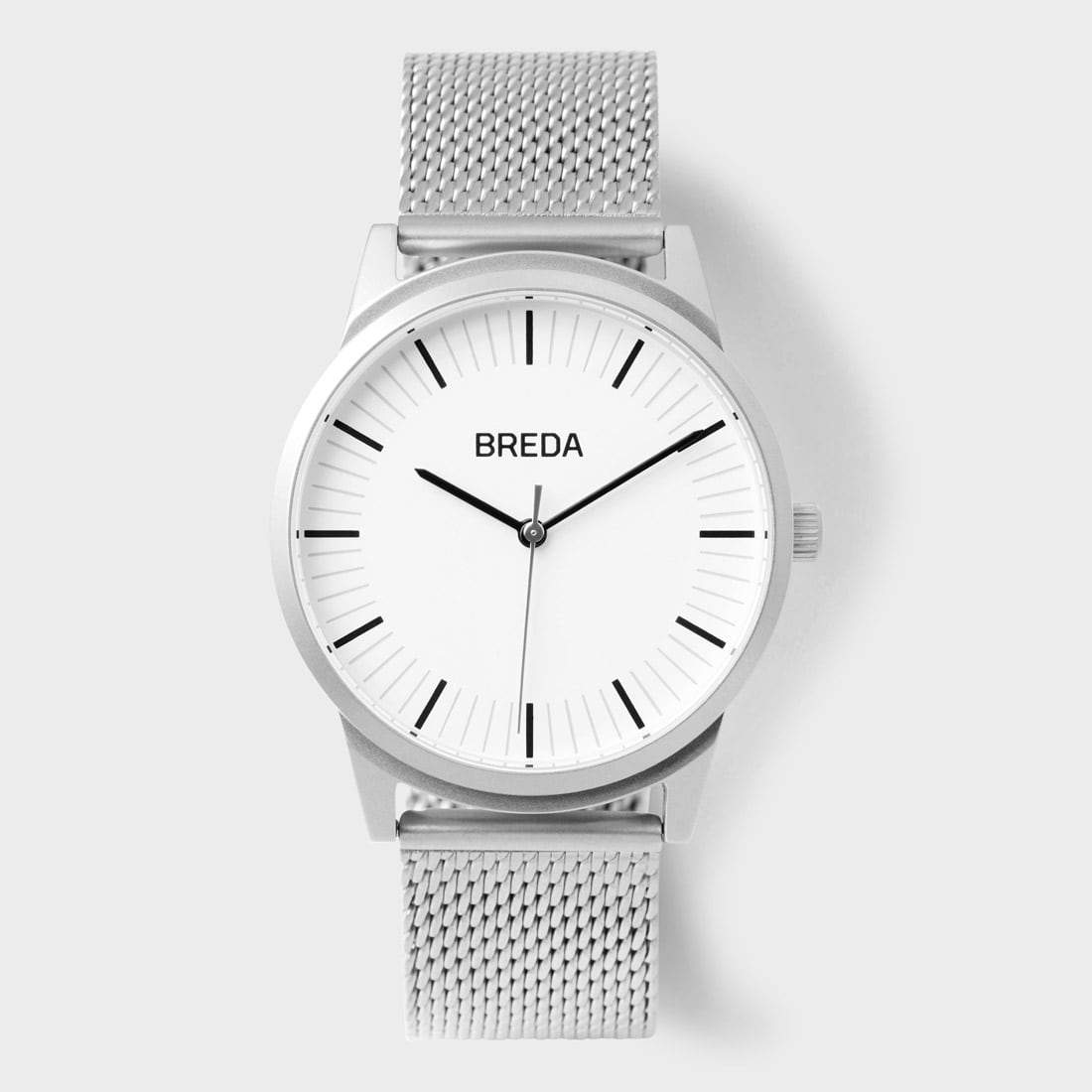 Breda Bresson Watch Silver/ White
