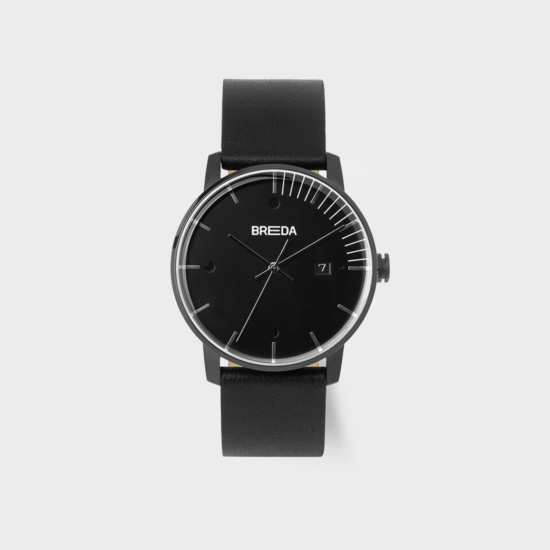 Breda Phase Watch Black/ Black