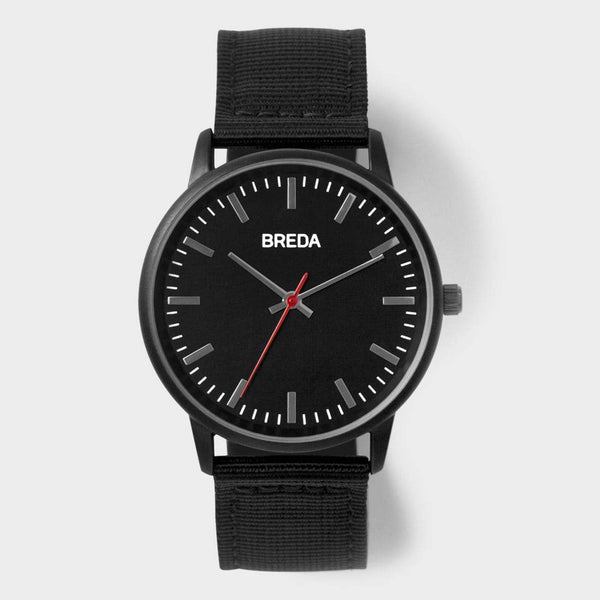 product: Breda Valor Watch Black/ Black