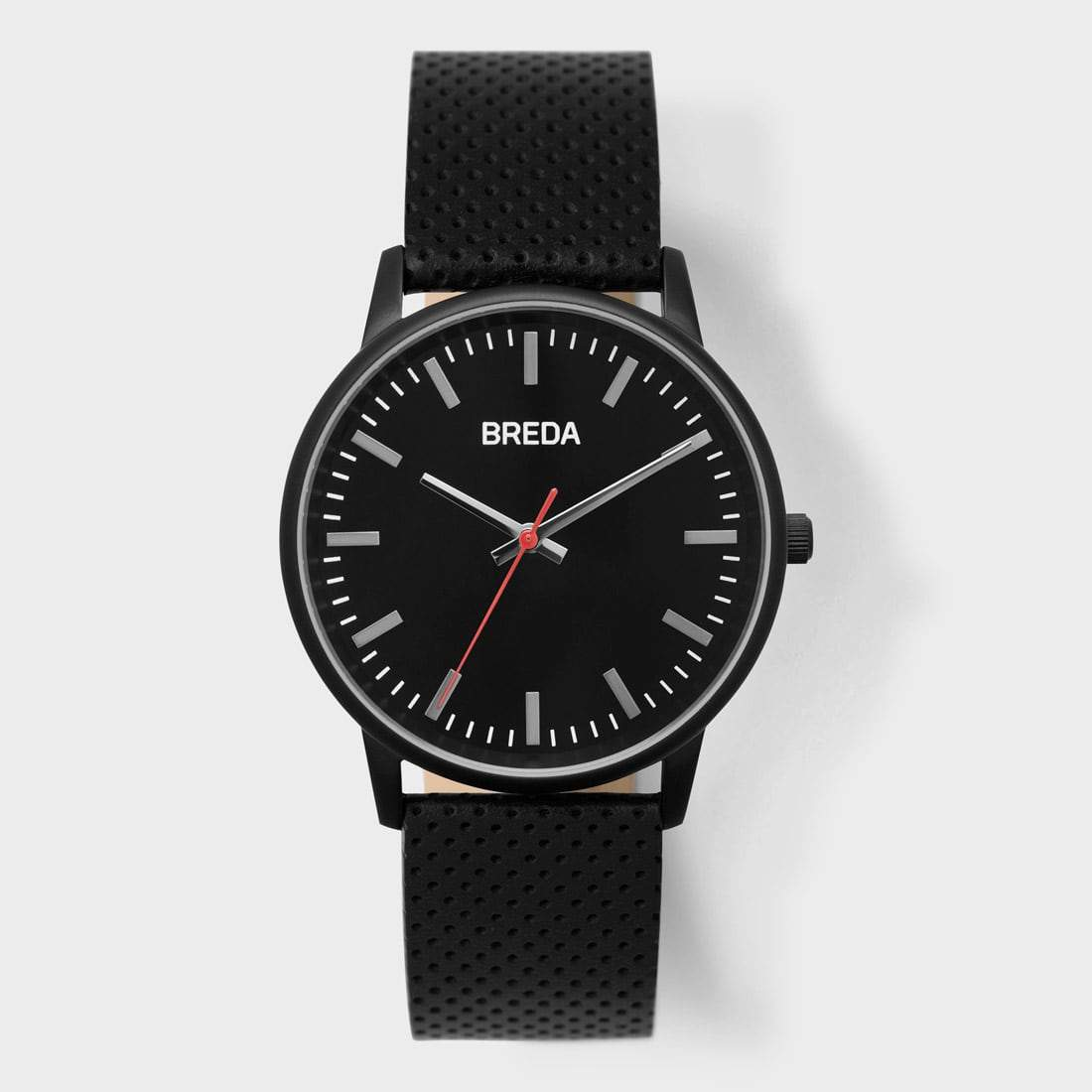 Breda Zapf Watch Black/ Black