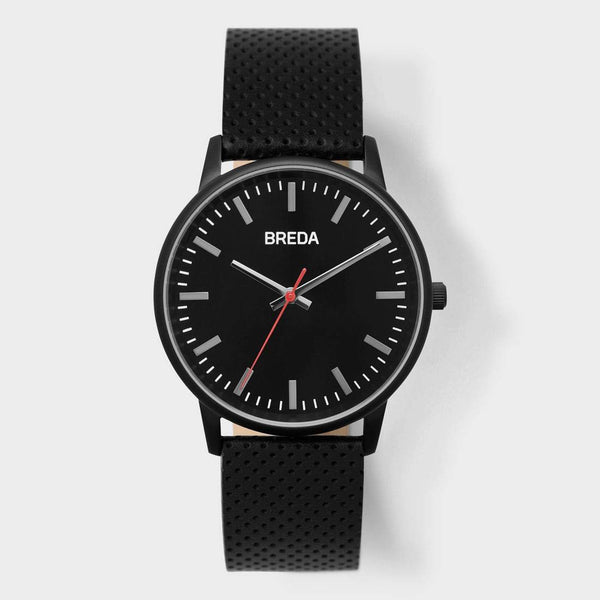 product: Breda Zapf Watch Black/Black