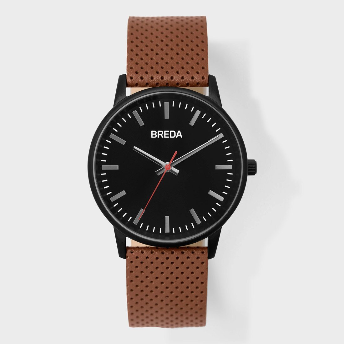 Breda Zapf Watch Black/ Brown