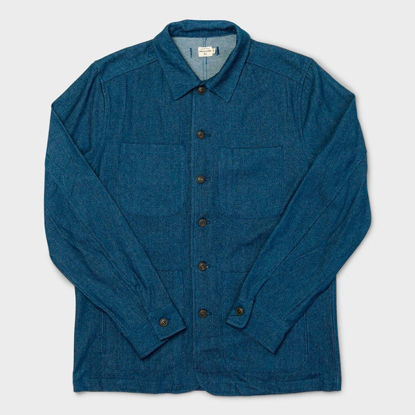 product: Bridge & Burn Amos Chore Coat Indigo