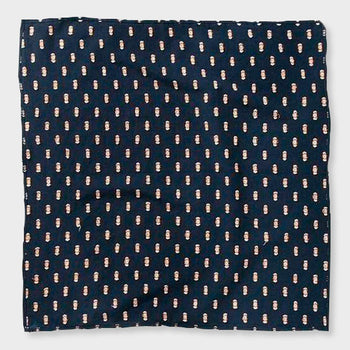 product: Bridge & Burn Bandana Navy Dobby