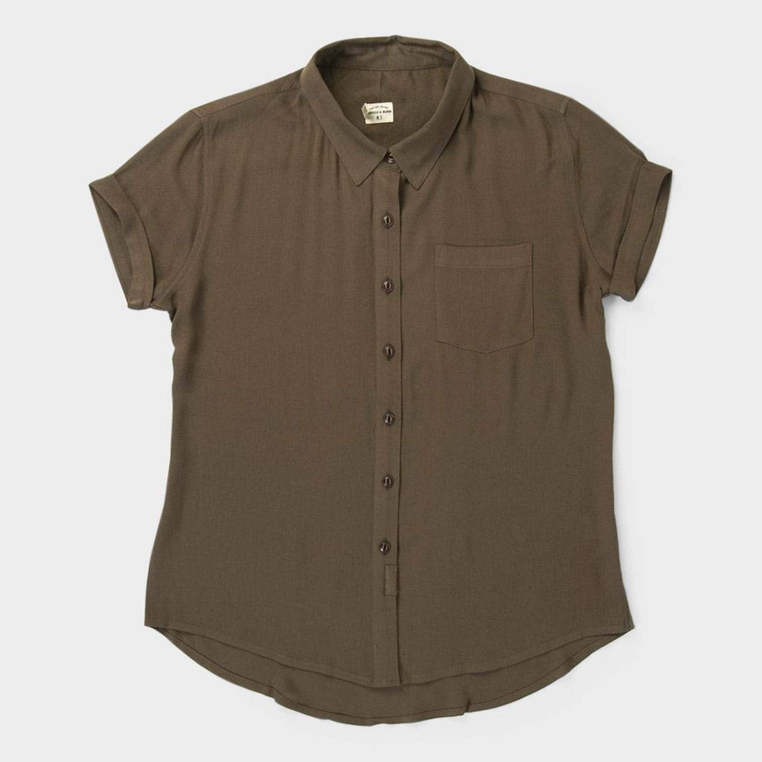 Bridge & Burn Women's Bea Shirt Olive