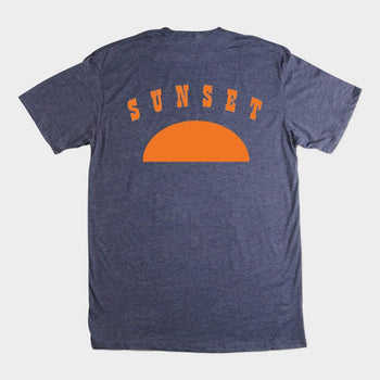 product: Bridge & Burn Call It A Day T-Shirt Blue Heather