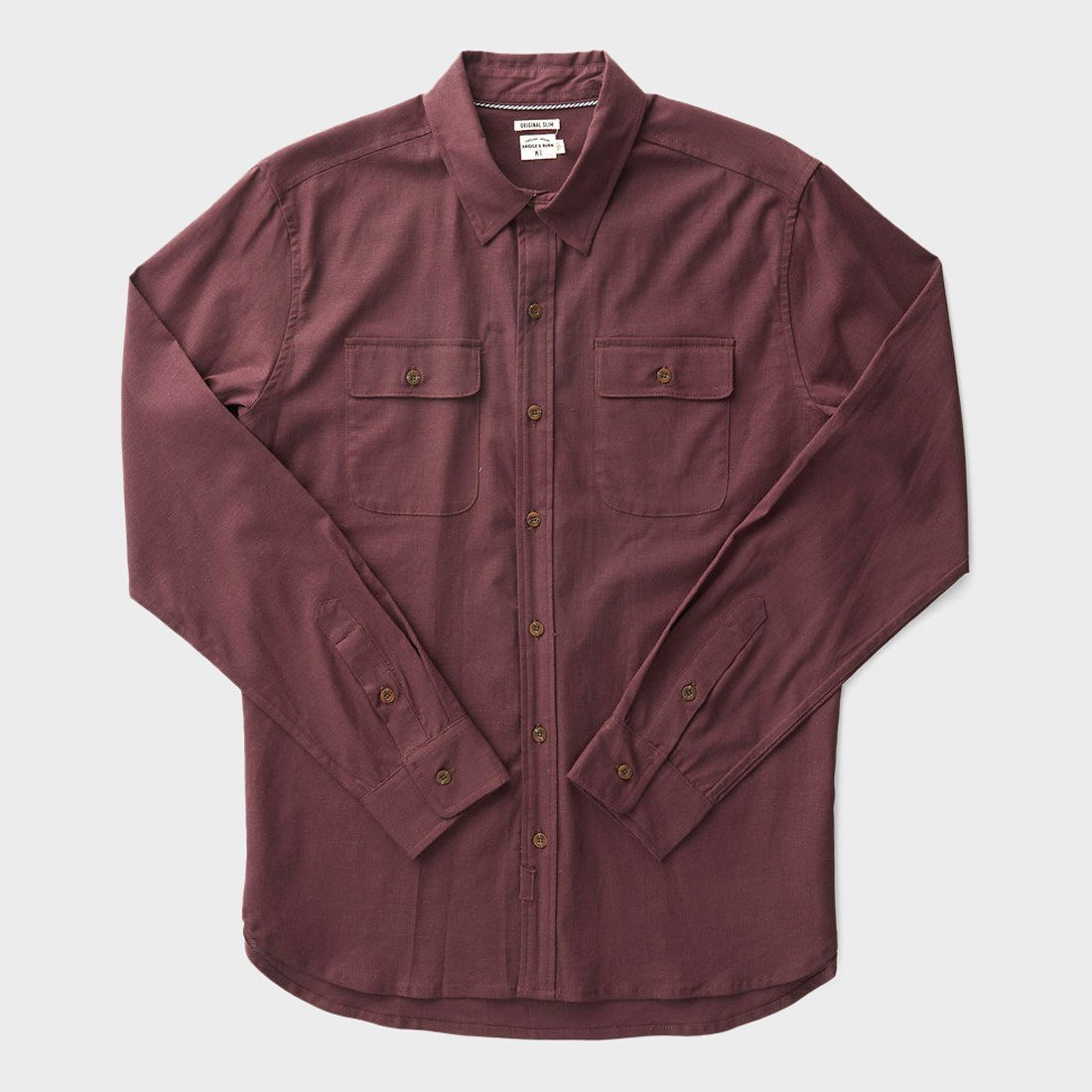 Bridge & Burn Cole Shirt Chicory