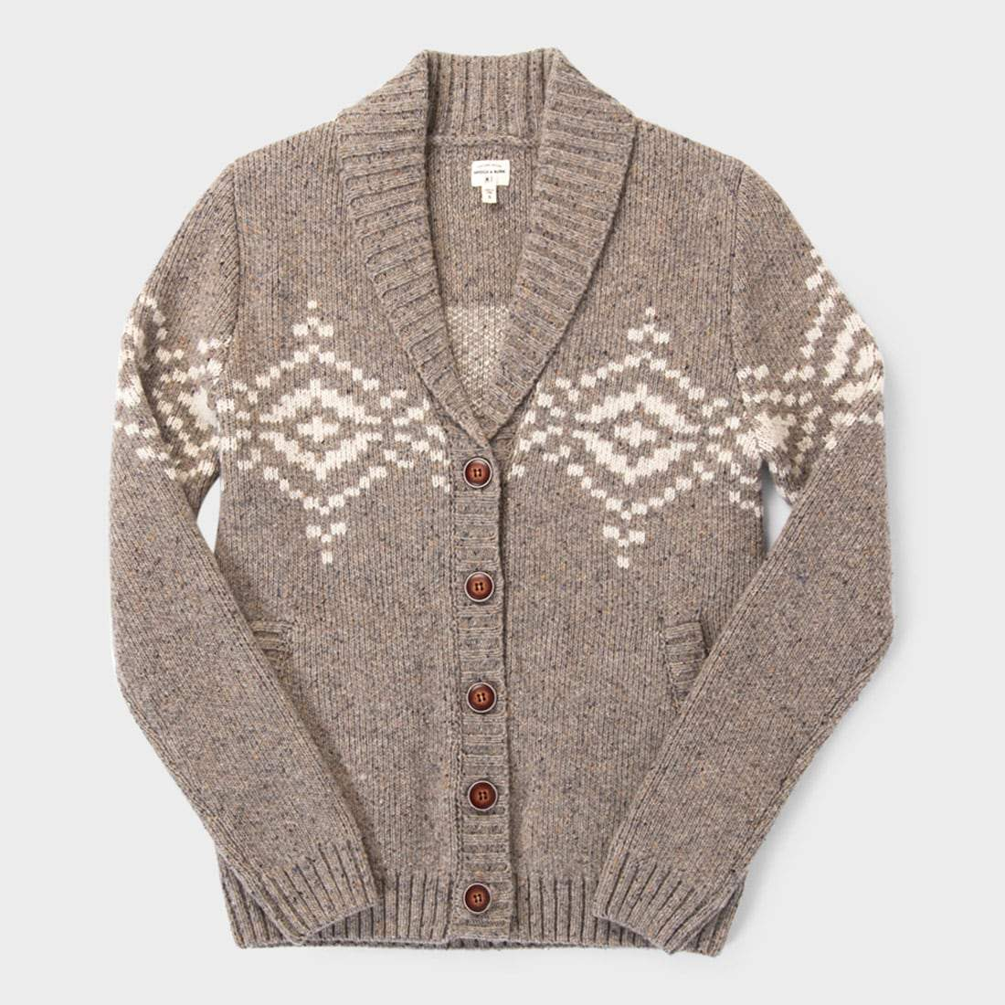 Bridge & Burn Women's Nolan Sweater Stone Donegal
