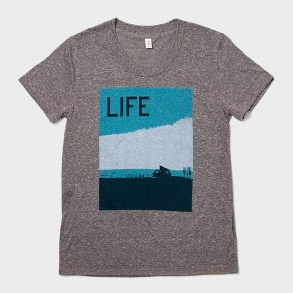 product: Bridge & Burn Women's Van Life Tee Dark Heather