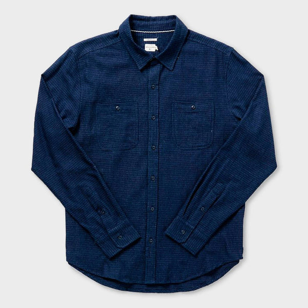 product: Bridge & Burn Winslow Shirt Indigo Grid