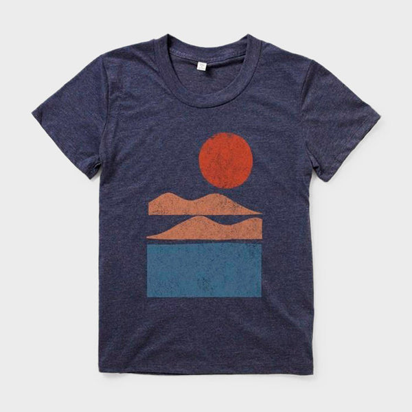 product: Bridge & Burn Women's Alpenglow T-Shirt Navy