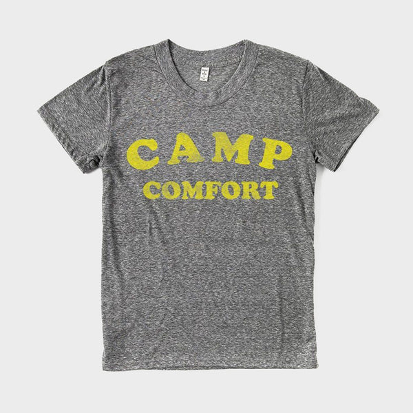 product: Bridge & Burn Women's Camp Comfort T-Shirt Dark Heather