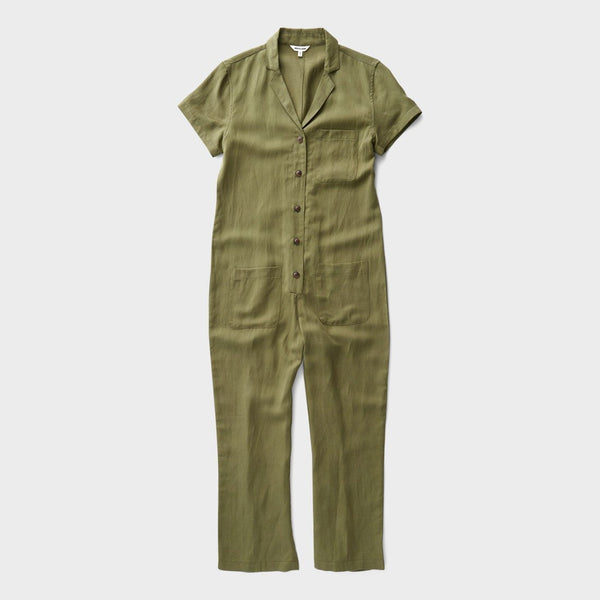 product: Bridge & Burn Women's Flynn Jumpsuit Olive