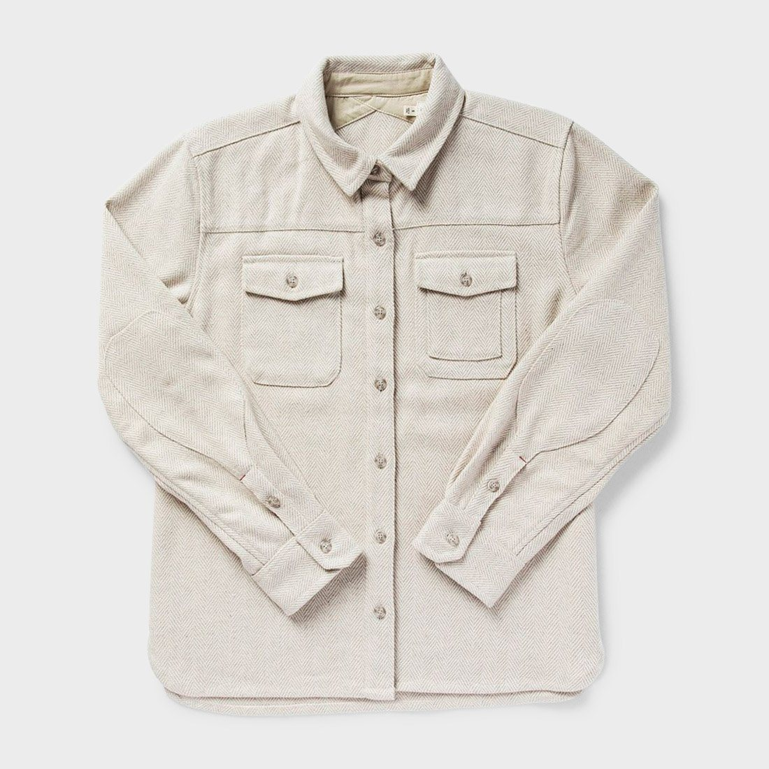 Bridge & Burn Women's Harlow Shirt Cream Herringbone