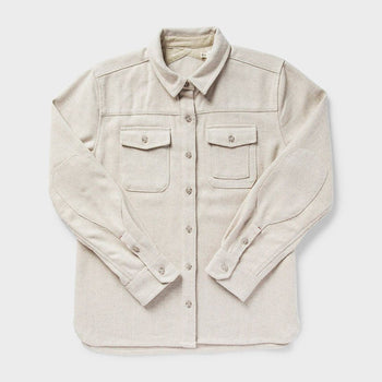 product: Bridge & Burn Women's Harlow Shirt Cream Herringbone