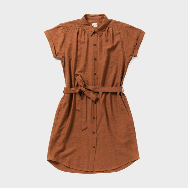 product: Bridge & Burn Women's Merit Dress Rust