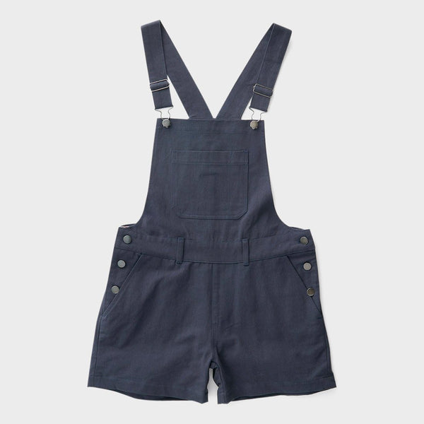product: Bridge & Burn Women's Morse Overall Shorts Navy