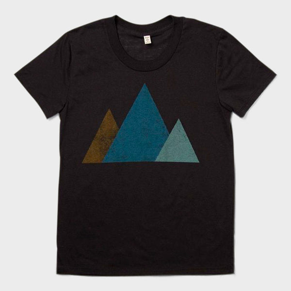 product: Bridge & Burn Women's Mtn T-Shirt Black
