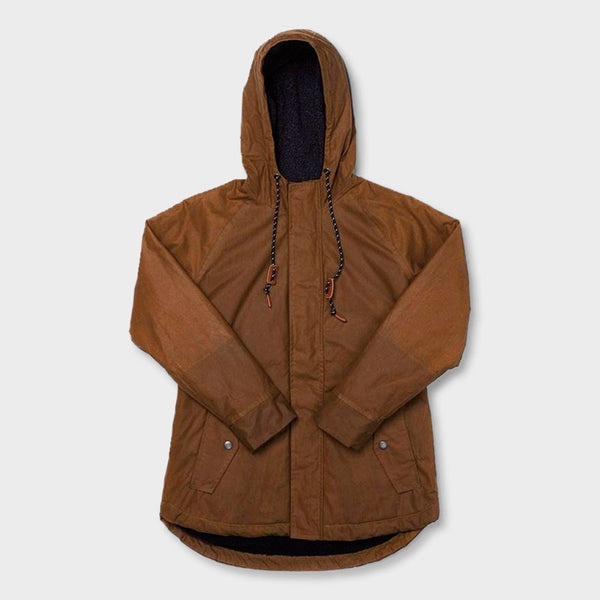 product: Bridge & Burn Women's Sequoia Jacket Whiskey Brown