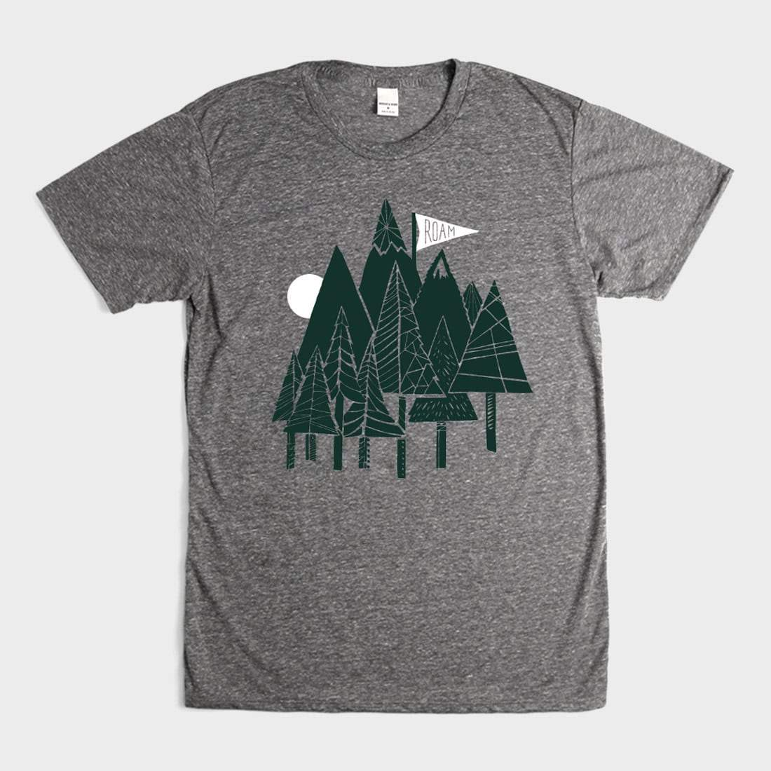 Bridge & Burn Roam Forest T-Shirt Dark Heather