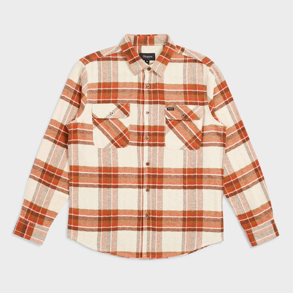 product: Brixton Bowery Flannel Dove