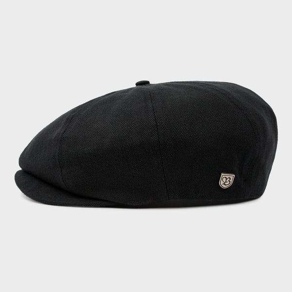 product: Brood Women's Snap Cap Black