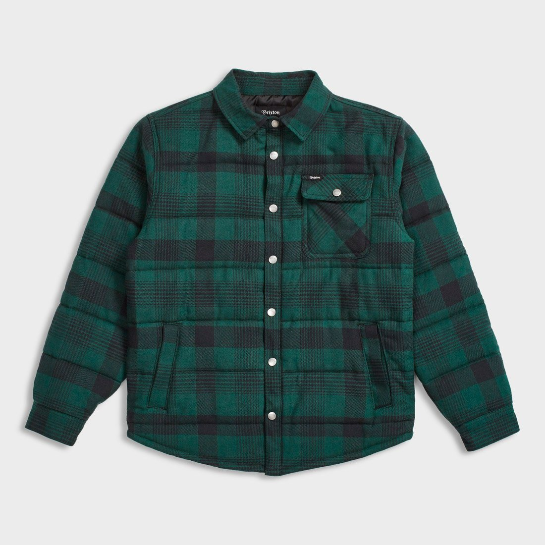 Brixton Cass Jacket Black/Green