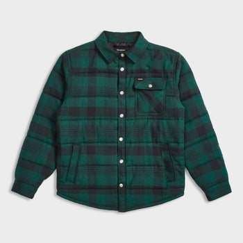 product: Brixton Cass Jacket Black/Green