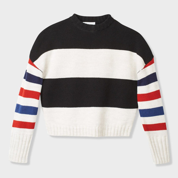 product: Brixton Women's Claudia Sweater Stripe