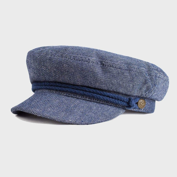product: Brixton Fiddler Cap Denim/Dark Navy