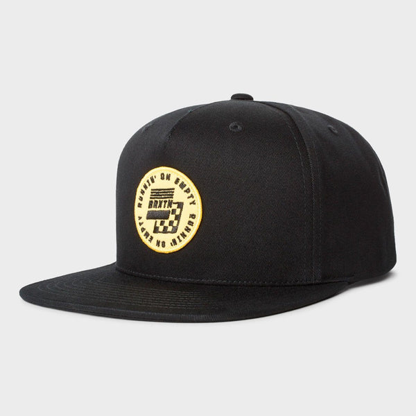 product: Brixton Gas MP Snapback Black