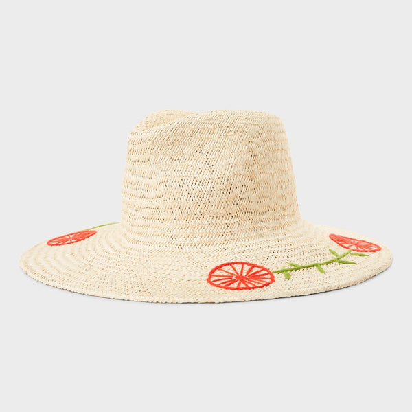 product: Brixton Joanna Hat Tan Mix