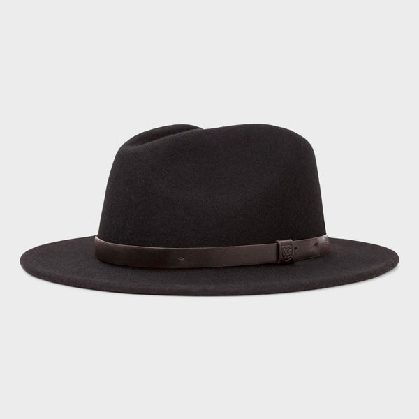 product: Brixton Messer Fedora Black/Black