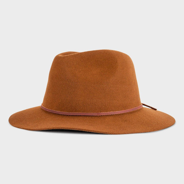 product: Brixton Wesley Fedora Coffee