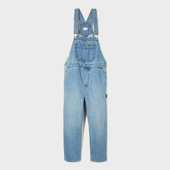 product: Brixton Women's Christina Crop Overall Faded Indigo