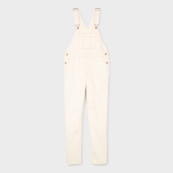 product: Brixton Christina Crop Overall Washed Copper