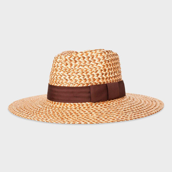 product: Brixton Joanna Hat Brown/Cream