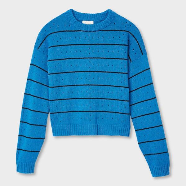 product: Brixton Women's Lima Sweater River Blue