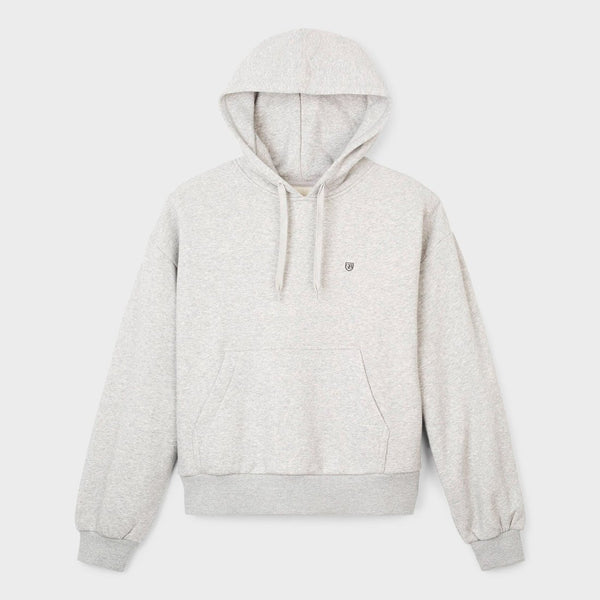 product: Brixton Women's Vintage Hood Pullover Grey