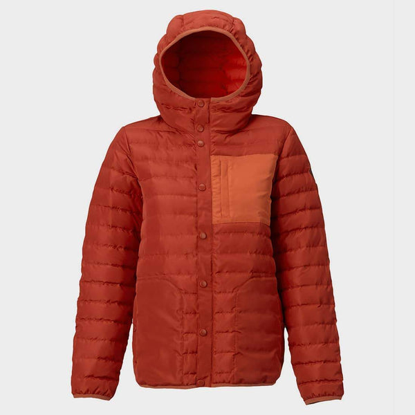 product: Burton Aliz Evergreen Down Hooded Insulator Bitters