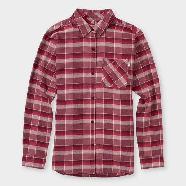 product: Burton Grace L/S Woven Rose Brown Sunset