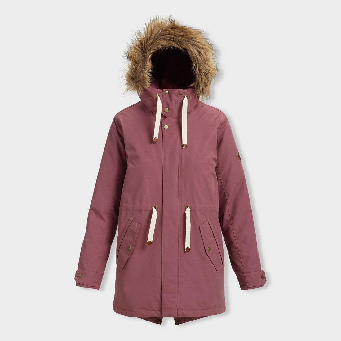 Burton Saxton Parka Rose Brown