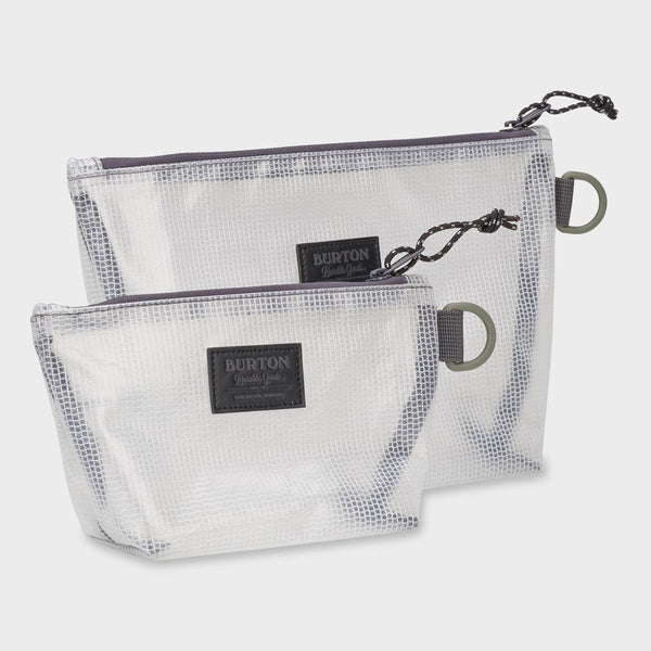 product: Burton Utility Pouch Set Clear