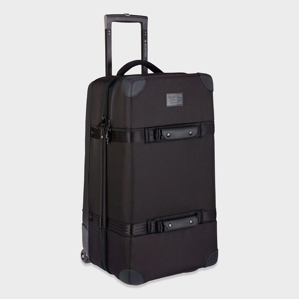 product: Burton Wheelie Double Deck Travel Bag True Black Ballistic