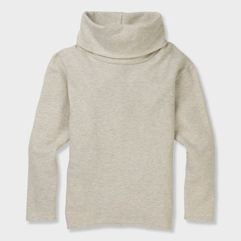 product: Burton Women's Ellmore Pullover Vanilla Heather