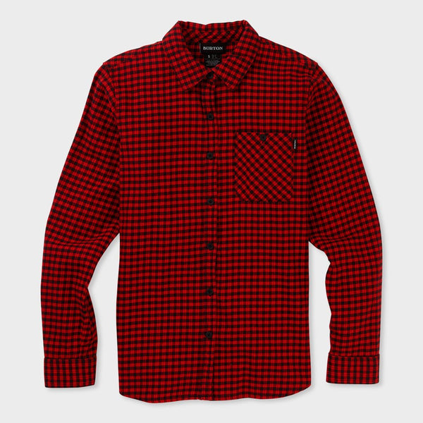 product: Burton Women's Grace Flannel Flame Foraker Plaid