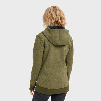 product: Burton Women's Minxy Fleece Full Zip Keef Heather